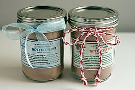 bows on jars