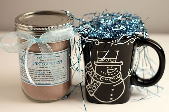 double chocolate hot cocoa mix with gift tags an easy mix that makes instant rich