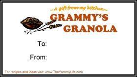 Grammys Granola