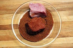 pork in dry rub