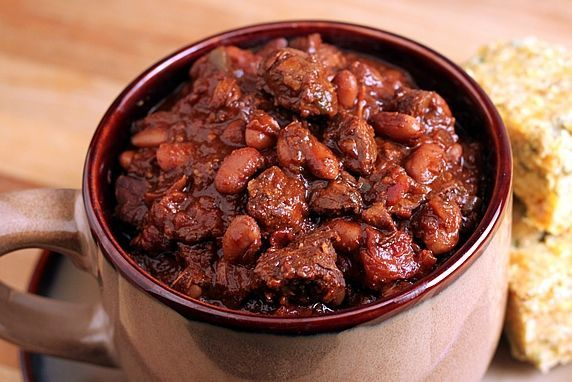 Thick & Hearty Steak Chili
