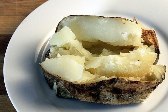plain potato