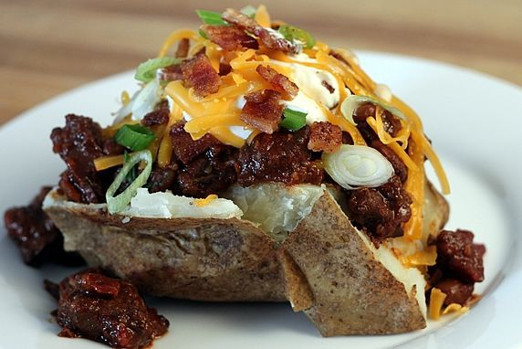 loaded potato