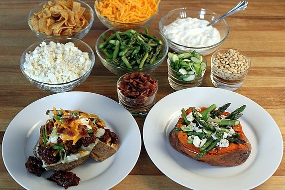 Sweet Baked Potato Bar