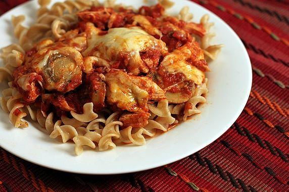 on pasta
