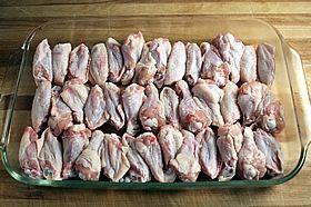 chicken in pan