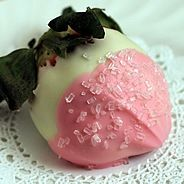white pink dip