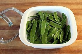 peas in dish