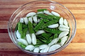 peas in ice
