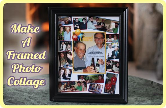 Framed Photo Collage