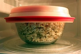 popped in microwave