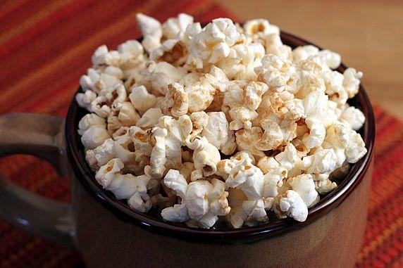 popcorn in mug