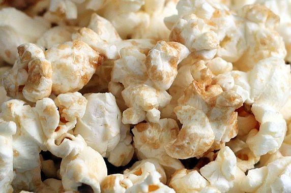 zoom on popcorn