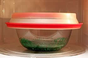 bowl in microwave