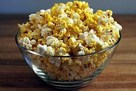 yellow popcorn