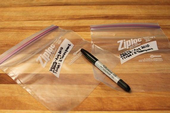 ziploc labeling