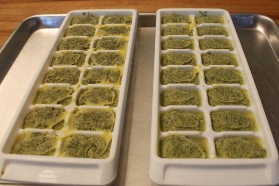 frozen tray