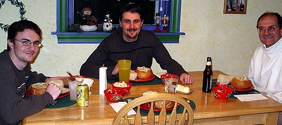 eating chowder 2004