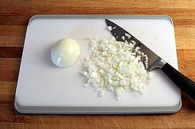 chop onions