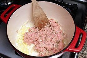 turkey in pan