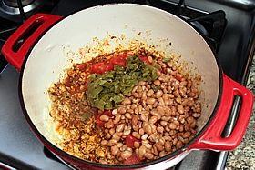 add chilis