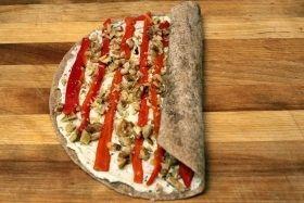 rolling tortilla