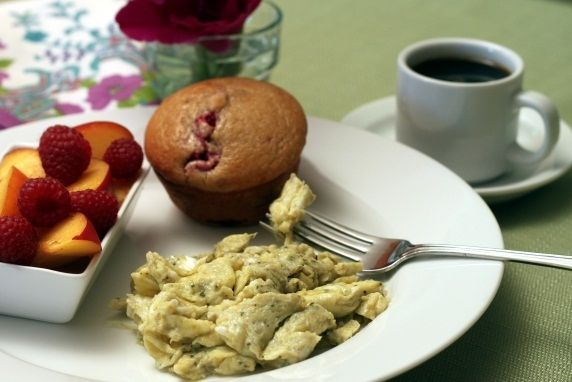 pesto breakfast