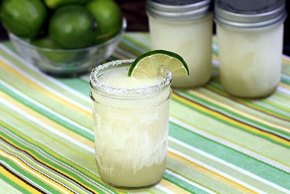 Make Ahead Frozen Margaritas