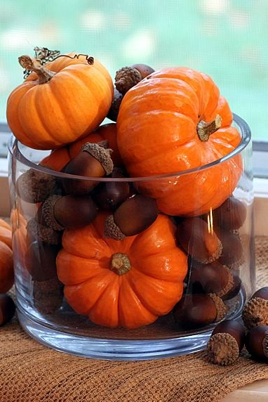 Fall centerpiece decorating ideas