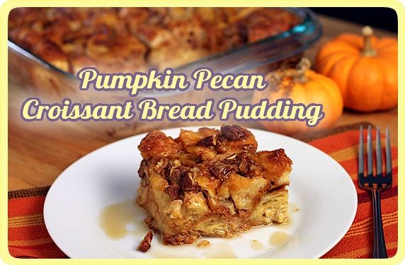 Pumpkin Bread Pudding2