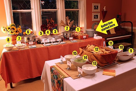 Wondrous A Mexican Buffet Dinner Party Download Free Architecture Designs Remcamadebymaigaardcom