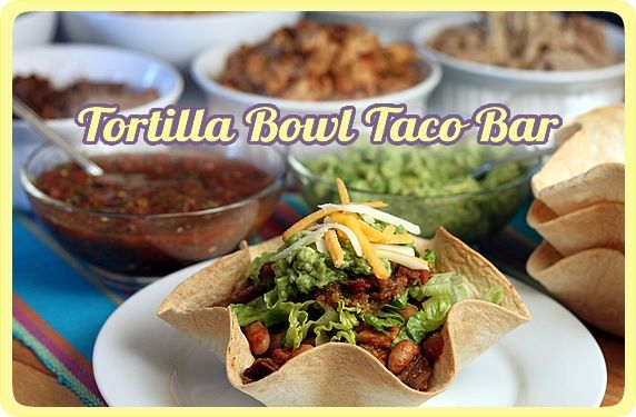 Tortilla Bowl Bar