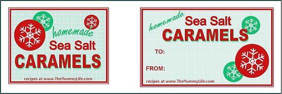 Caramel tags-red snowflake.jpg