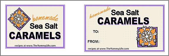 Caramel tags-purple snowflake.jpg