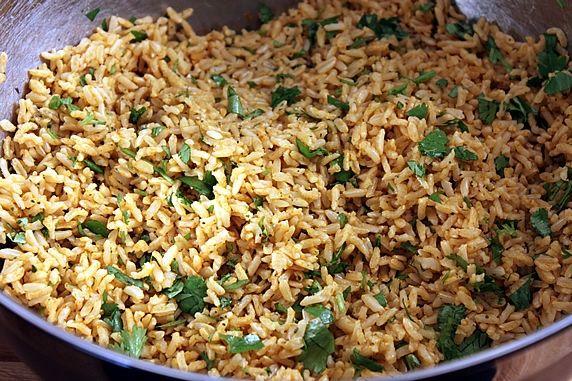 Cilantro Lime Basmati Brown Rice