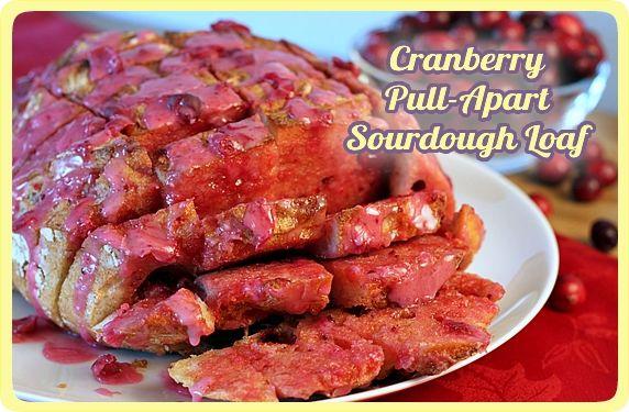 Cranberry Pull-Apart Bread