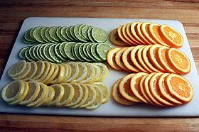 cut citrus