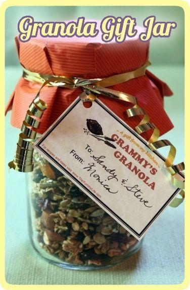 Granola Gift Jar