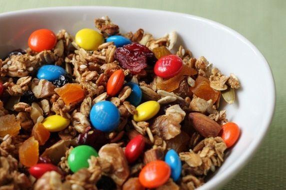 granola M&Ms
