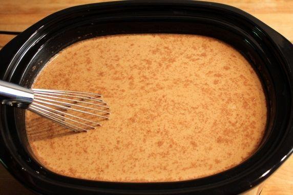Maple Pumpkin Spice Latte in A Slow Cooker