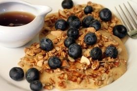 pan w. blueberries