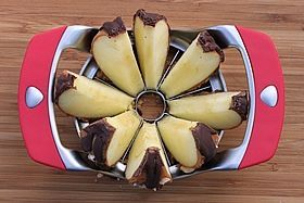 apple slices spread