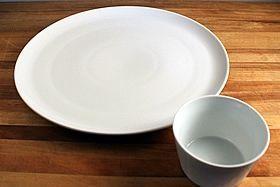 platter w. bowl