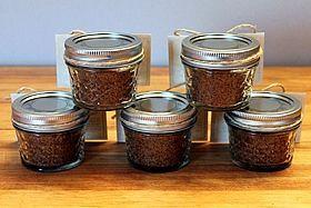 stack of jars-back