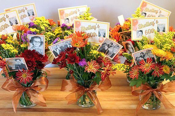 6 bouquets
