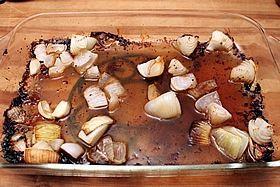 onion in pan