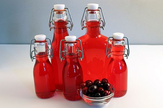 finished cran bottles