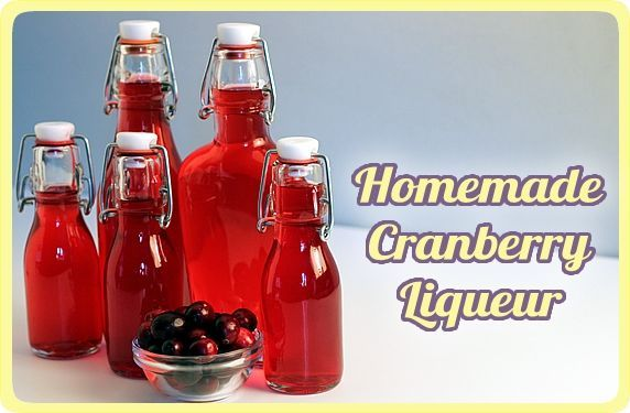 Cranberry Liqueur Recipe — Dishmaps