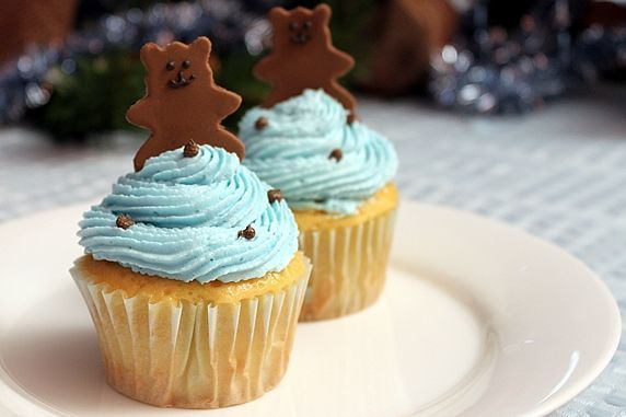 closeup cupcakes